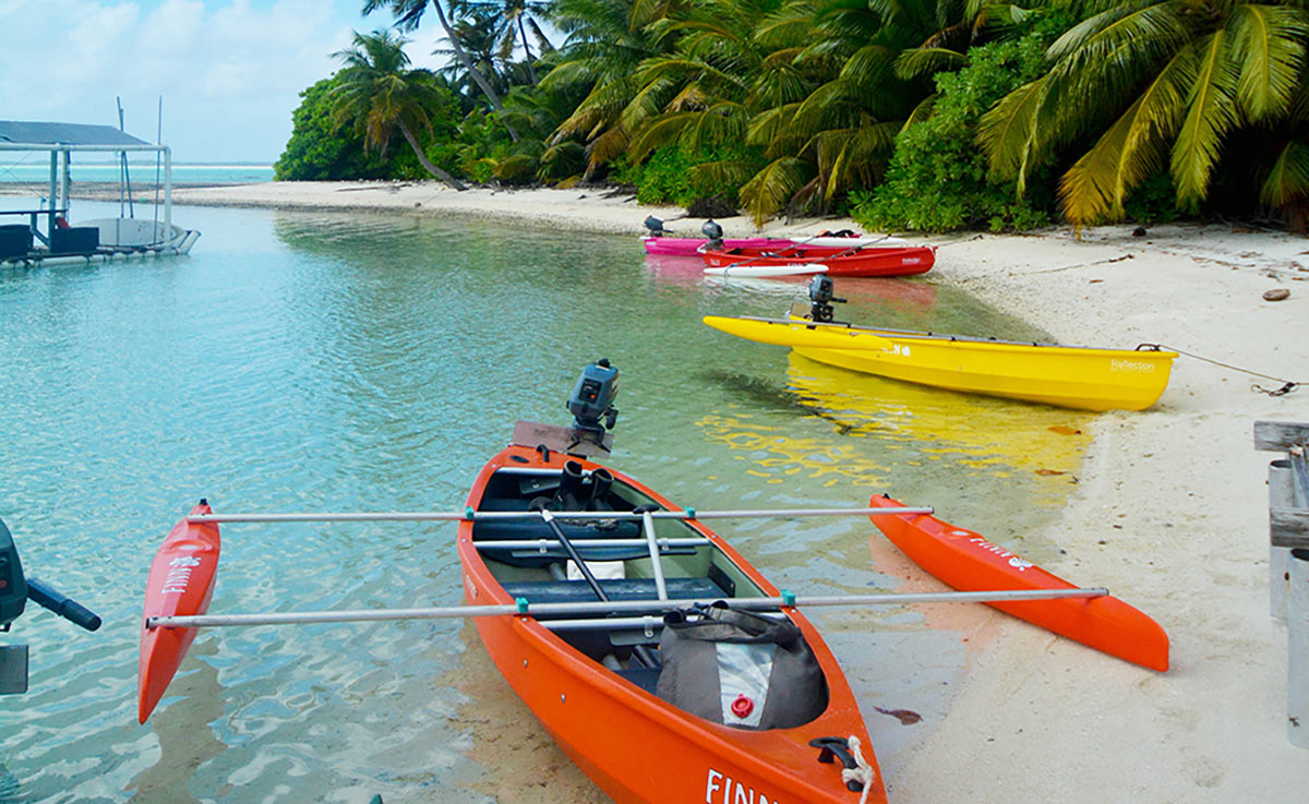 Canoe Tours - holiday Australia's Indian Ocean islands