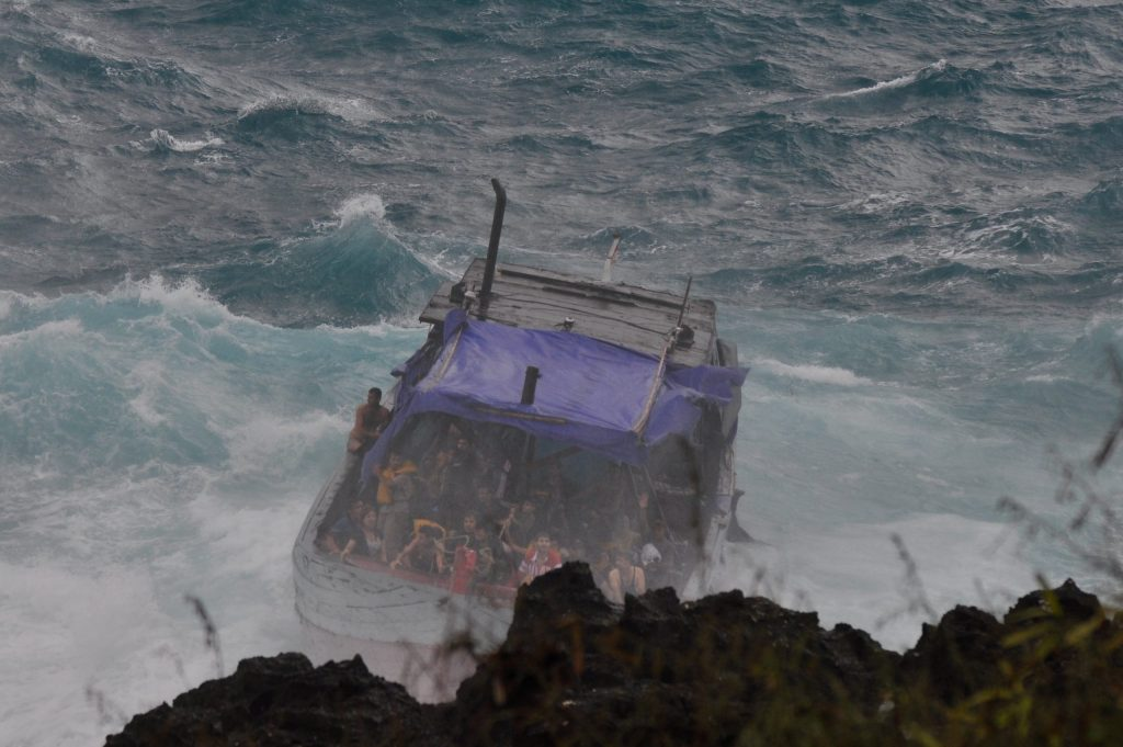 Christmas Island Boat Disaster - Prior to Impact 2